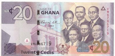 history of ghana s currency hearsaygh