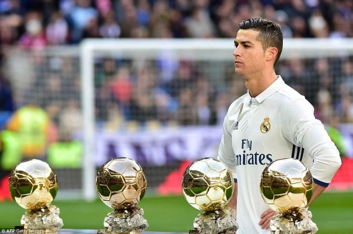 2999ea90e9c 470CBE8300000578-5156841-They will be expecting to see Ronaldo pick up his fifth Ballon d-a-1 1512668424603.jpg.  Cristiano Ronaldo ...